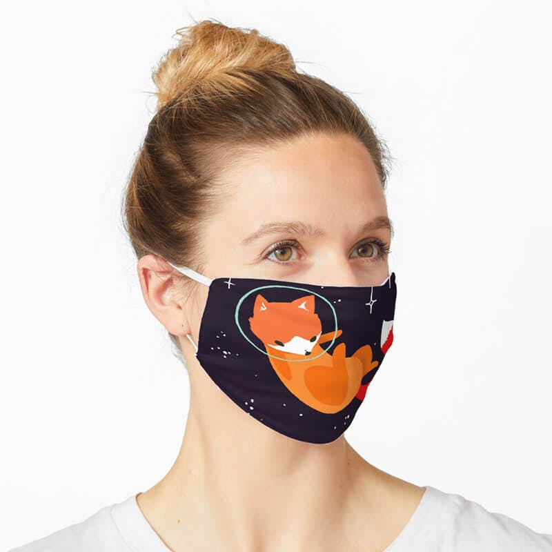 custom face masks by redbubble
