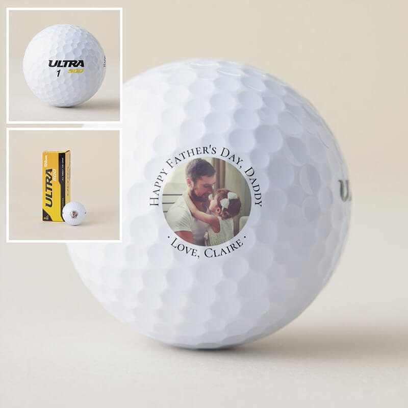 custom golf ball Father`s day
