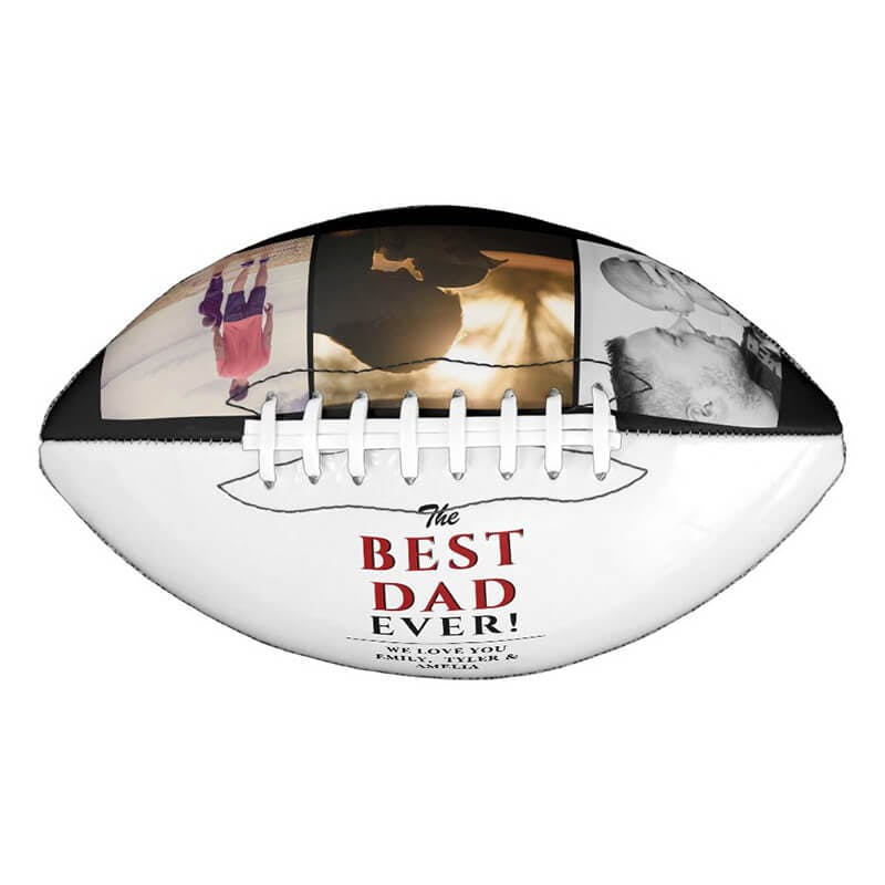 custom football ball